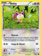 Carte Pokemon 12/12 Skitty 50pv 2015 Hologramme - Pokemon