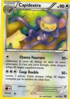 Carte Pokemon 91/114 Capidextre 90pv 2016 - Pokemon