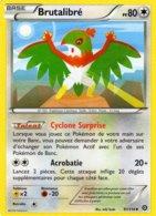Carte Pokemon 97/114 Brutalibré 80pv 2016 - Pokemon