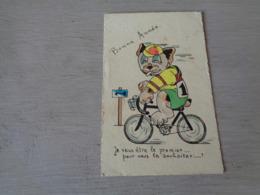 Chien ( 578 )  Hond   Chien Personalisé  Cycliste  Vélo  Fiets   Bicyclette - Chiens