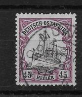 Sello De Ostafrika Nº Michel 36 O Valor Catálogo 70.00€ - Colonia: Africa Oriental