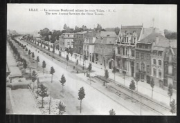 Cpa 5920314 Lille Le Nouveau Boulevard Reliant Les Trois Villes - Lille