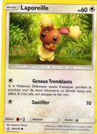 Carte Pokemon 106/156 Laporeille 60pv 2018 - Pokemon