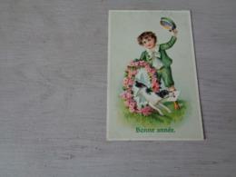 Chien ( 581 )  Hond   Carte Gaufrée  Reliëf - Chiens