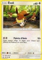 Carte Pokemon 105/156 Evoli 60pv 2018 - Pokemon