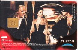 ARGENTINA - El Zorro 8, Telecom Argentina Telecard, Chip GEM1a, 03/99, Used - Argentinië