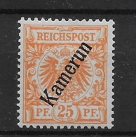 Sello De Camerún Nº Michel 5 * Valor Catálogo 25.00€ - Colonia: Camerún