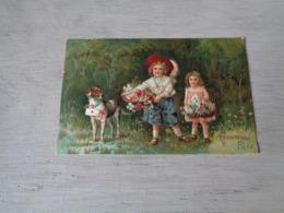 Chien ( 589 )  Hond    -  Carte Gaufrée  Reliëf - Chiens