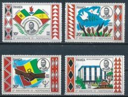 °°° RWANDA - 20° ANNIVERSAIRE DE L'NDEPENDANCE - 1982 MNH °°° - Rwanda