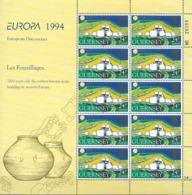1994 Guernsey   Mi 635-8 **MNH    Europa: Entdeckungen Und Erfindungen - Europa-CEPT