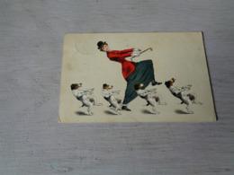 Chien ( 594 )  Hond    Danse  Humor  Illustrateur - Chiens