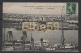 """Saint-Nazaire (44), Vue Générale N. 3, Le Bassin De Penhoet Et La Ville, De """"La Ville-Halluard"""" à """"Toutes-Aides"""", écrite - Saint Nazaire"""