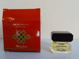 """Miniature """"DETCHEMA"""" De REVILLON Eau DeParfum 2 Ml Dans Sa Boite - Miniatures Womens' Fragrances (without Box)"""