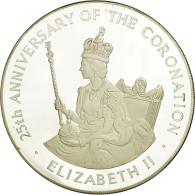 Monnaie, Jamaica, Elizabeth II, 25 Dollars, 1978, Franklin Mint, Proof, FDC - Jamaica
