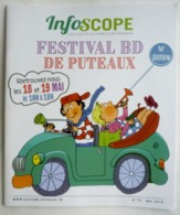 INFOSCOPE N° 75 16EME FESTIVAL BD DE PUTEAUX - 2019 - DESPRES TOM TOM & NANA Article Tintin - Objets Publicitaires