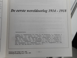 COPIEN VAN VERSCHILLENDE FILATELISTISCHE STUDIES IN VERBANT MET  WO I - Filatelia E Historia De Correos