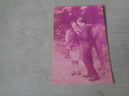 Carte ( 354 ) Fantaisie  Fantasie - Thème Animal  Dier  :   Paard   Cheval - Chevaux