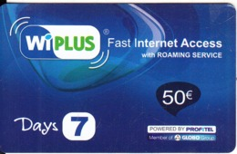 GREECE - Profitel Prepaid Card 50 Euro, Used - Grecia