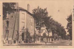 CPA  BOISSY SAINT LEGER 94 - Gendarmerie Route Nationale - Boissy Saint Leger