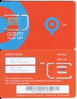 GREECE - Q Telecom GSM, Chip Q15(silver), Mint - Grecia