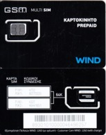 GREECE - Wind GSM, Chip Q3(silver), Mint - Grecia