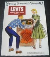 POSTALCARD OF  PUBLICITY  OF  LEVI ' S  JEANS ...4 - Werbepostkarten
