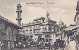 Bombay Juma Musjid Circulée En 1923 Avec Taxe De 30c - Inde