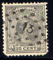 NETHERLANDS, NO. 48a .. - Period 1891-1948 (Wilhelmina)