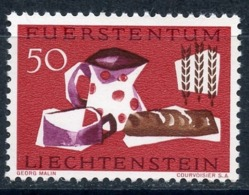 LIECHTENSTEIN 1963 432 Campaign Against The Famine Of 1963 - Food