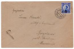 1926 KINGDOM OF SHS, SLOVENIA, TPO 94 HODOS - MARIBOR, SENT TO DJEVDJELIJA, MACEDONIA - Briefe U. Dokumente