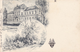 Eckartsau * K. K. Jagdschloss, Wappen, Park, Mehrbild * Österreich * AK1336 - Gänserndorf