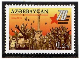 Azerbaijan 2015 . Victory. 1v:0.20m..  Michel #  1119 - Azerbaiján