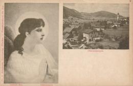 Oberammergau * Schutzengel Gabriel Max, Gesamtansicht, Gebet, Mehrbild * AK1359 - Oberammergau