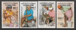 YEMEN Du SUD - N°234/7 ** (1980) Artisanat - Yemen
