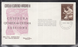 2020 ) Free Shipping To //  Beautiful Cover Of The Vatican In 1965, Worth Watching Safely  (1) - FDC