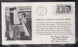 2020 ) Free Shipping To //  Beautiful Cover Of The Vatican In 1965, Worth Watching Safely  (2) - FDC
