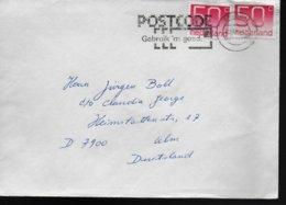 PAYS BAS Lettre Poste - Post