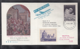 2020 ) Free Shipping To //  Beautiful Cover Of The Vatican In 1965, Worth Watching Safely  (3) - FDC