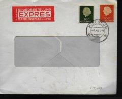 PAYS BAS Lettre 1961 - Poststempels/ Marcofilie