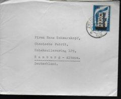 PAYS BAS Lettre 1956 Europa - Europa-CEPT
