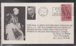 2020 ) Free Shipping To //  Beautiful Cover Of The Vatican In 1965, Worth Watching Safely  (8) - FDC