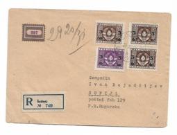 Yugoslavia Sostanj RARE Label R Stamp 1949 - Non Classificati
