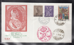 2020 ) Free Shipping To //  Beautiful Cover Of The Vatican In 1966  Worth Watching Safely  (2) - FDC