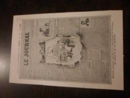 CPA PUBLICITE LE JOURNAL - Werbepostkarten