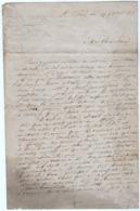 VP15.844 - Empire - SAINT - CLOUD Près PARIS 1860 - Lettre D'un Soldat Du 1er Rgt De Voltigeurs De La Garde Impériale - Documents