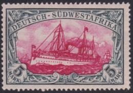 Deutsch SudWestAfrica  .   Michel   .   23 (2 Scans)     .     *  .  Ungebraucht Mit Falz  .   /   .  Mint-hinged - Colony: German South West Africa