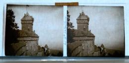 Plaque De Verre - 2 Vues - Le Haut Koenigsbourg - Animée - Plaques De Verre
