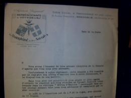 Document à Entête Syndicat Des Représentants Des Voyageurs Du Dauphiné ET DES SAVOIES ( Date De La Piste) - Frankreich