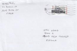 GOOD ITALY Postal Cover To ESTONIA 2019 - Good Stamped: Napoli - 6. 1946-.. Republic