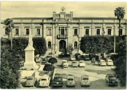 REGGIO CALABRIA  Piazza Italia  Municipio  Auto Fiat 500  Topolino  Giardinetta - Reggio Calabria